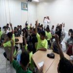 فعالية توعوية عن داء السكري في مدرسة أبي حنيفة النعمان الابتدائية